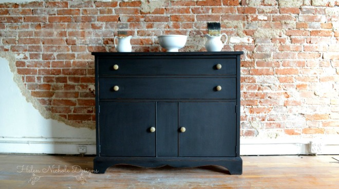rustic brands_black buffet .1