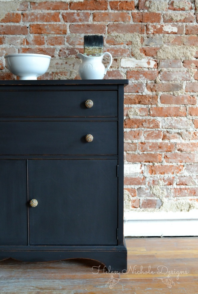 rustic brands_black buffet 3