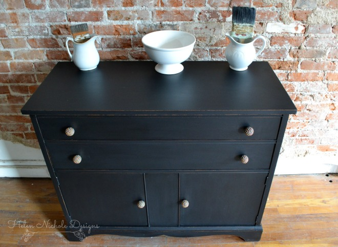 rustic brands_black buffet 5