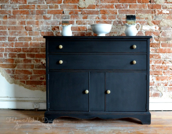 rustic brands_black buffet_1